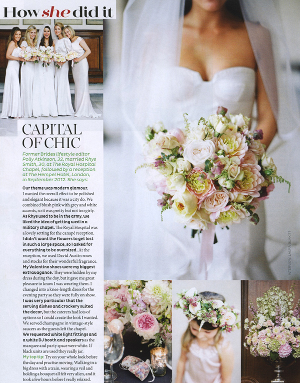 Brides Magazine Wedding