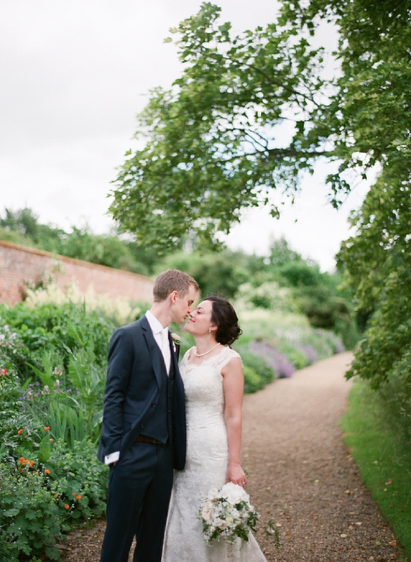 wedding at Kelmarsh Hall