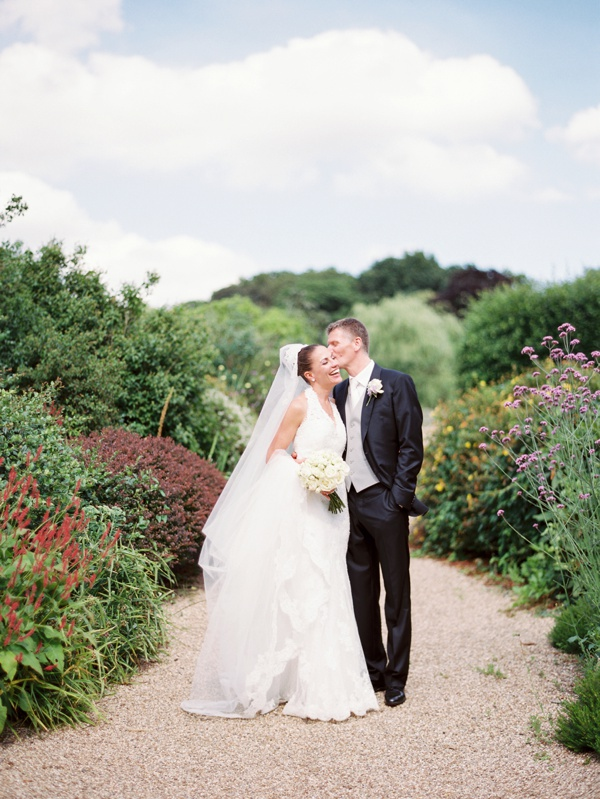 wedding at gaynes park film photographer